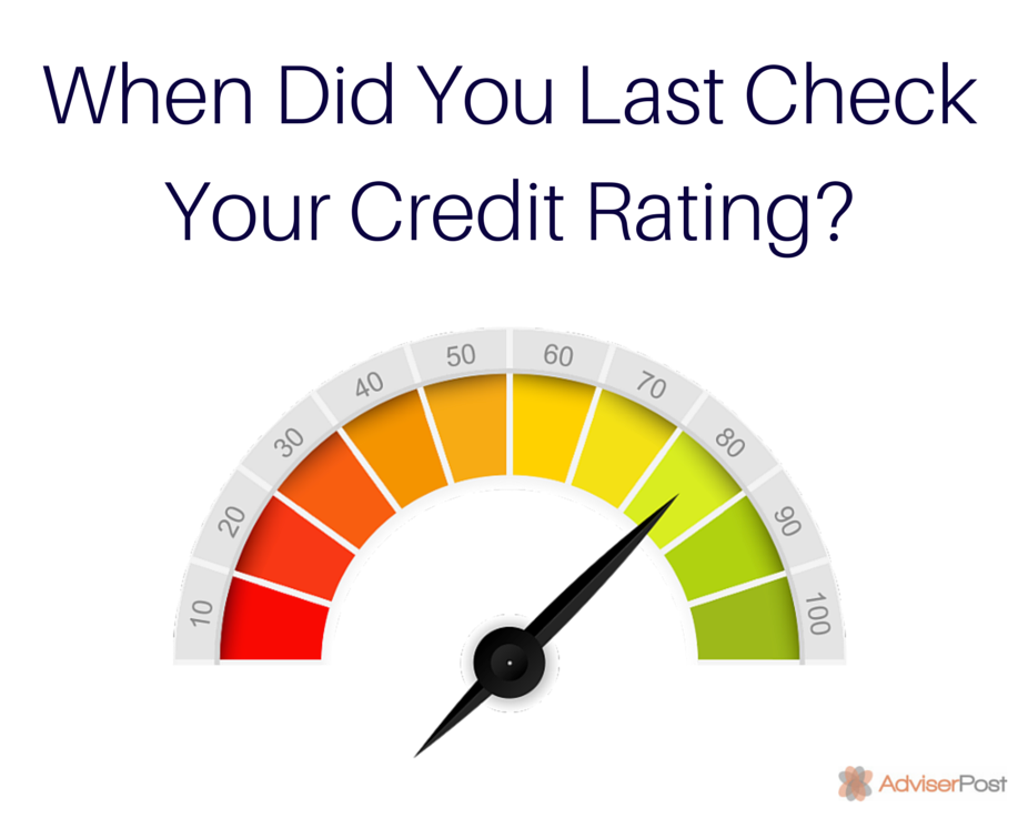 When Did You Last Check Your Credit Rating? - Riverside Financial